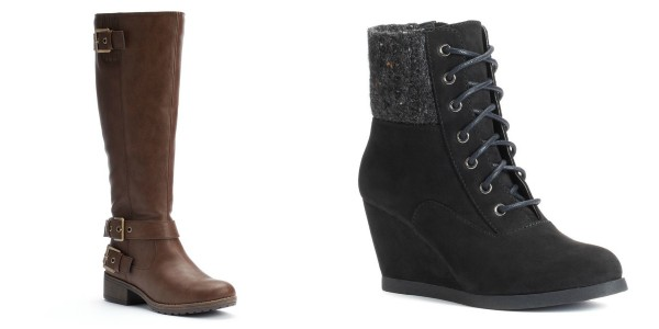 kohl s s boots as low as 14 99 pair