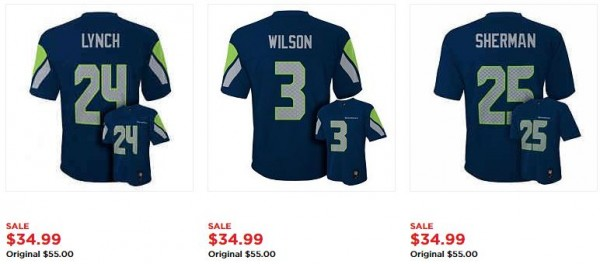 Seahawks jersey coupons