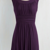 I Love Your Dress in Plum