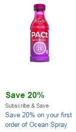 ocean spray pact coupon