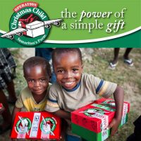 Donate an Operation Christmas Child Box for $5
