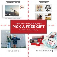 Shutterfly: FREE Gift This Weekend (Nov 7th-8th)