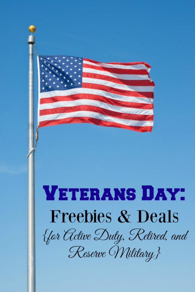 Veterans day freebies illinois 2018