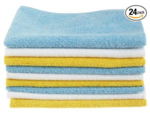 AmazonBasics CW190423 Microfiber Cleaning Cloth - 24 Pack - Copy