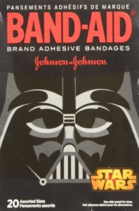 Band-Aid Star Wars Assorted Adhesive Bandages, 20 Count - Copy