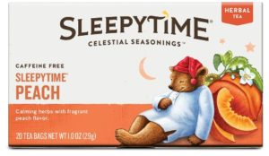 Celestial Seasonings Sleepytime Peach Herbal Tea, 20 Count - Copy