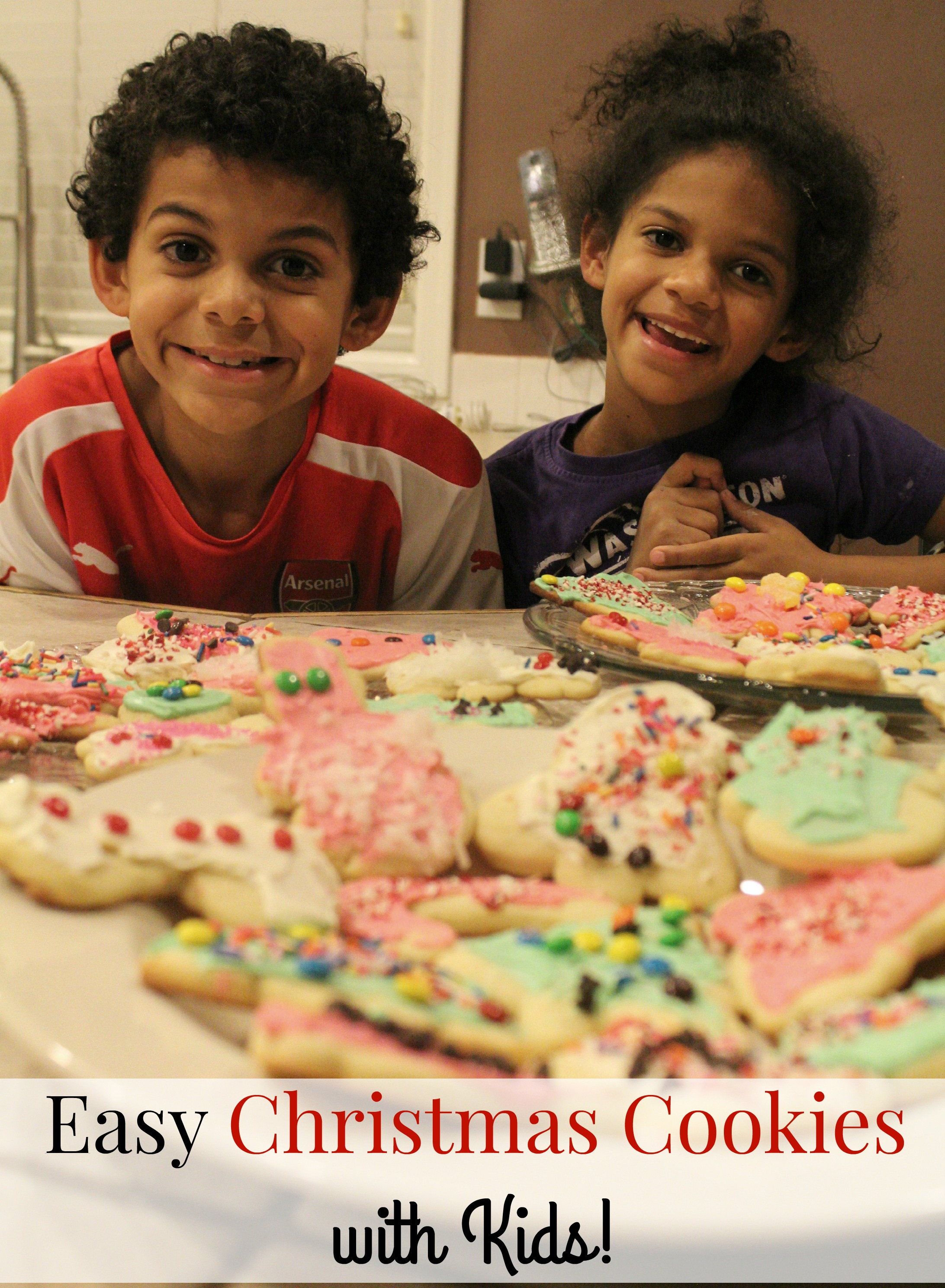 Easy Christmas Cookies with Kids