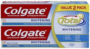 Colgate Total Whitening Toothpaste Twin Pack (two 6oz tubes) - Copy