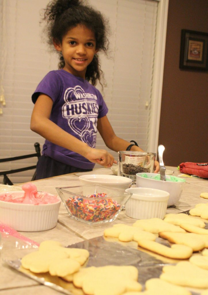 Making a Mess of Cookies