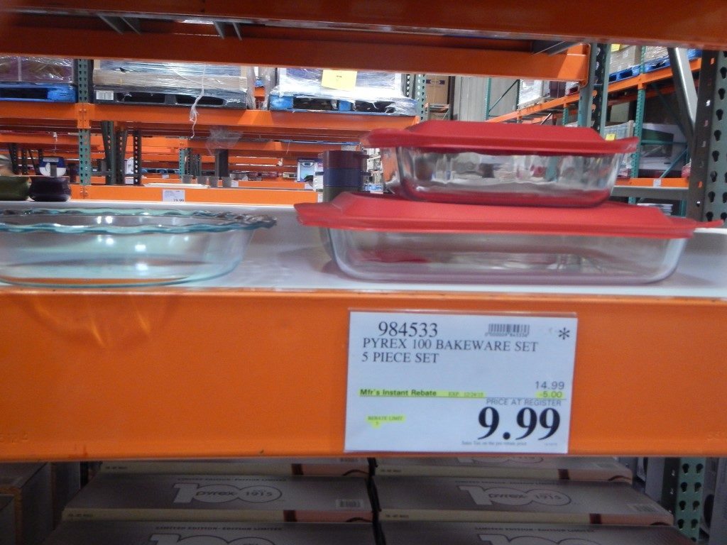 Pryex Bakeware at Costco