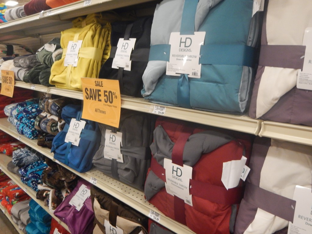 All Throws 50% Off At Fred Meyer