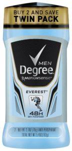 Degree Men motion Sense Antiperspirant & Deodorant, Everest 2.7 oz, Twin Pack - Copy