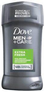 Dove Men+Care Antiperspirant & Deodorant, Extra Fresh 2.7 oz, Twin Pack - Copy