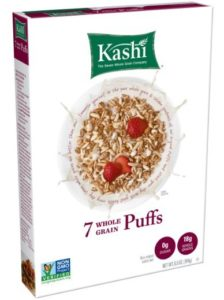 Kashi 7 Whole Grain Puffs Cereal, 6.5 Ounce - Copy