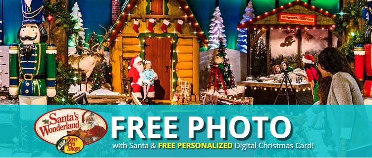 Bass Pro Shops: FREE Christmas Activities each day through Dec. 24th