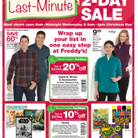 Fred Meyer Last Minute 2-Day Sale 12/23 - 12/24