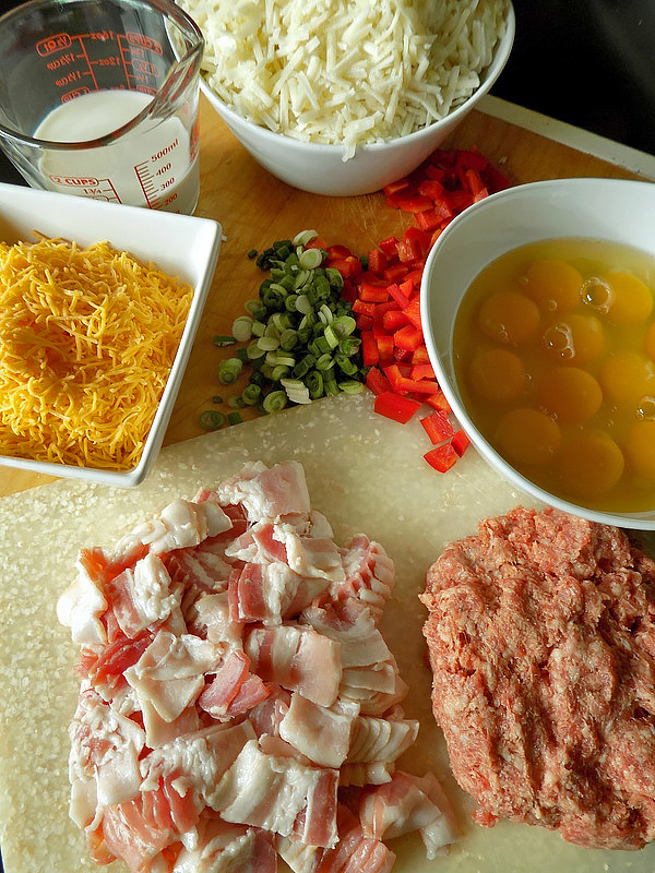 Slow Cooker Breakfast Ingredients