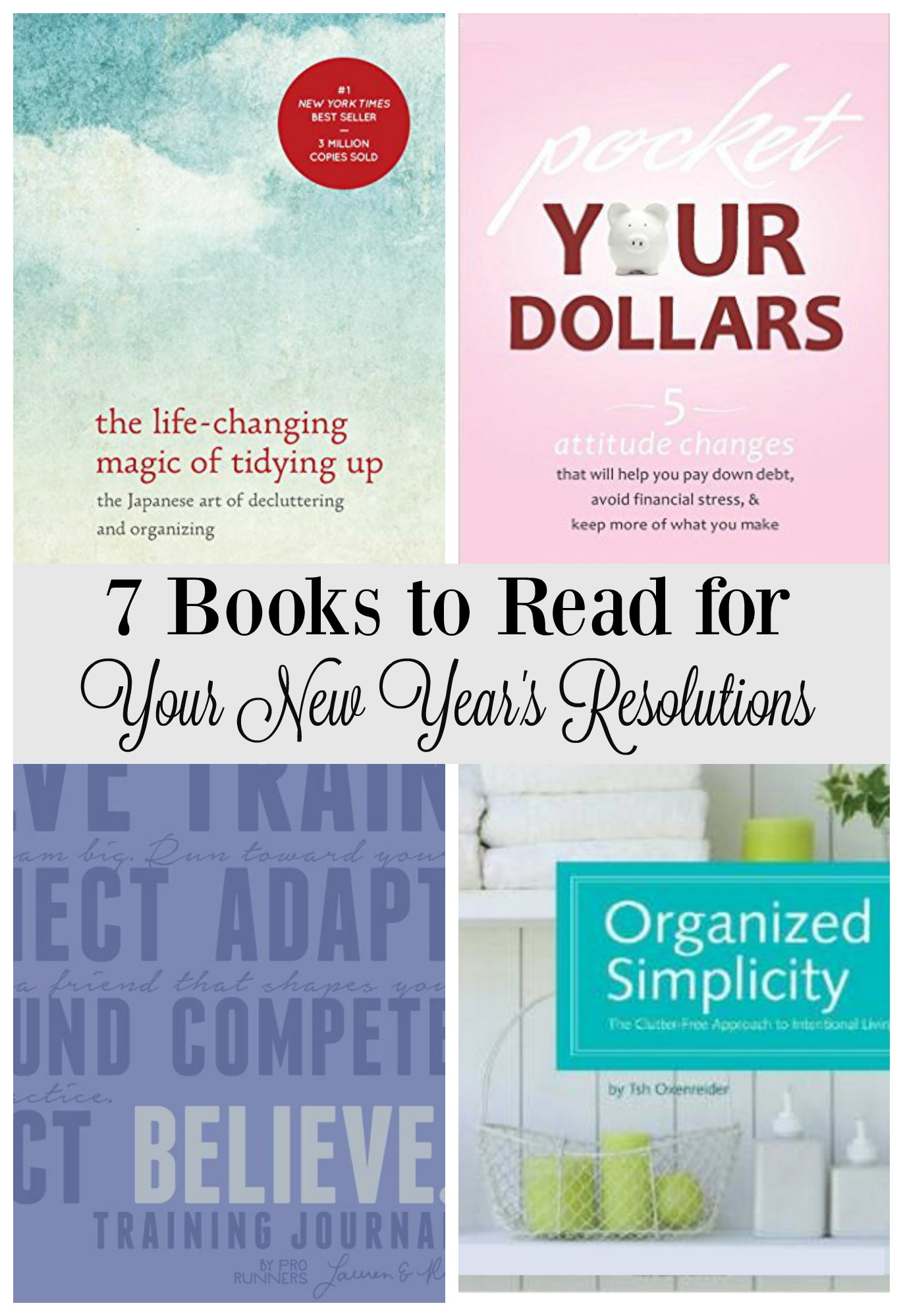 7 Must-Read Books for your New Year's Resolutions!