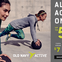 Old Navy: Save up to 50% on Activewear