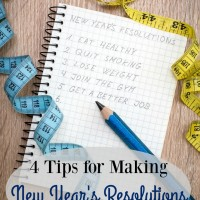 4 Tips for Making New Year's Resolutions that Stick