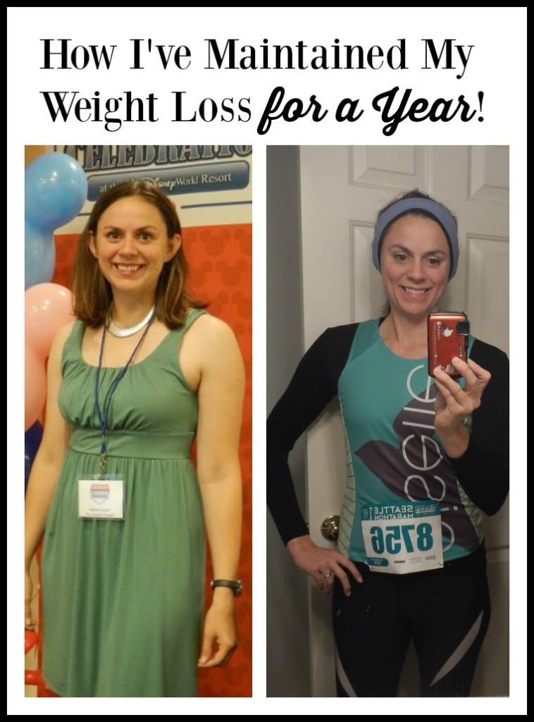 How I've Maintained my Weight Loss for a Year