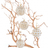 'Annabel' Ball Ornaments (Set of 12)