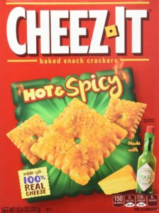 Cheez-It Hot and Spicy Crackers, 12.4 Ounce