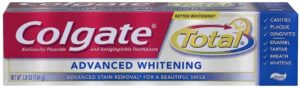 Colgate Total Advanced Whitening Toothpaste, 5.8 Ounce