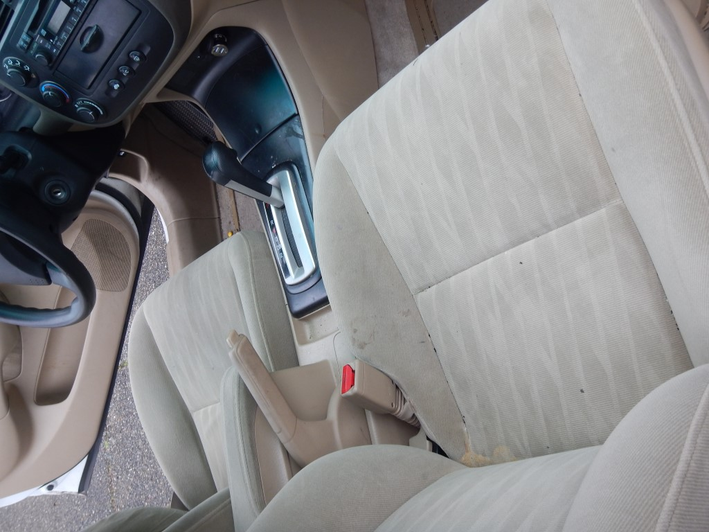 Car interior homemade cleaner - Messy Car Stains