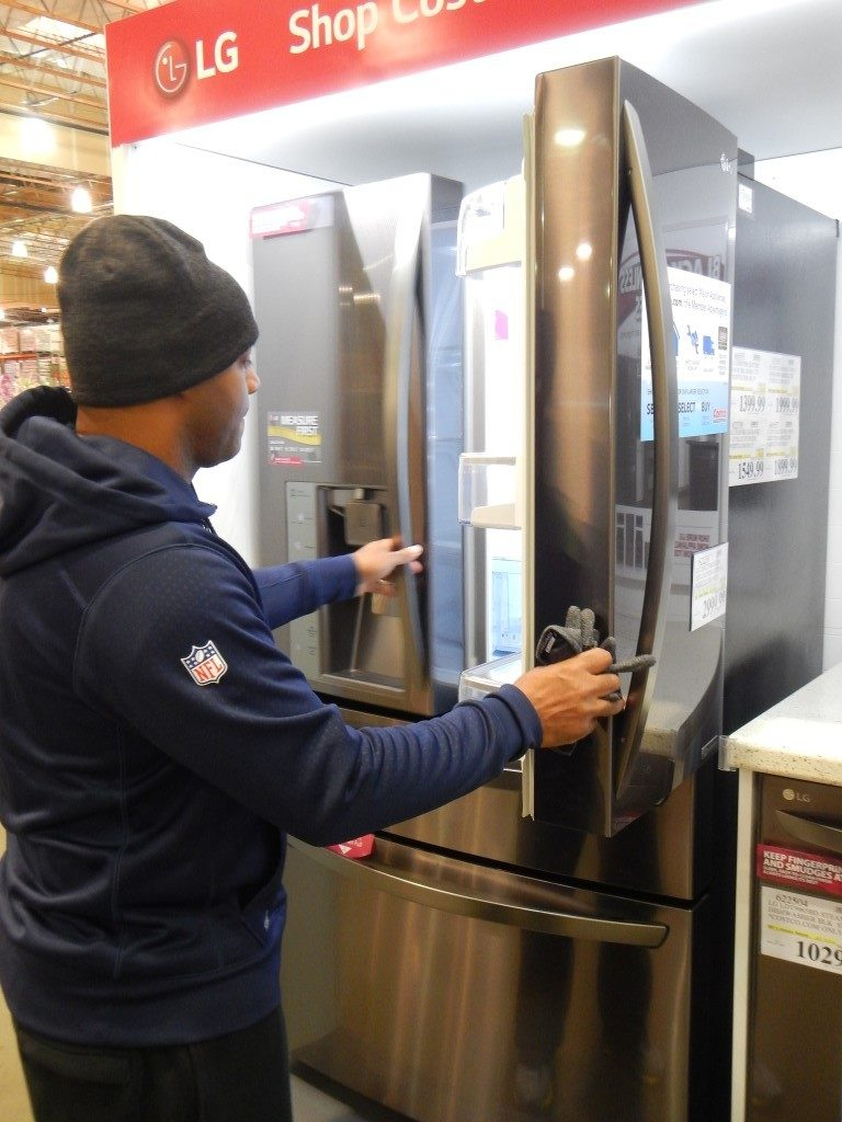 New LG Fridge at Costco