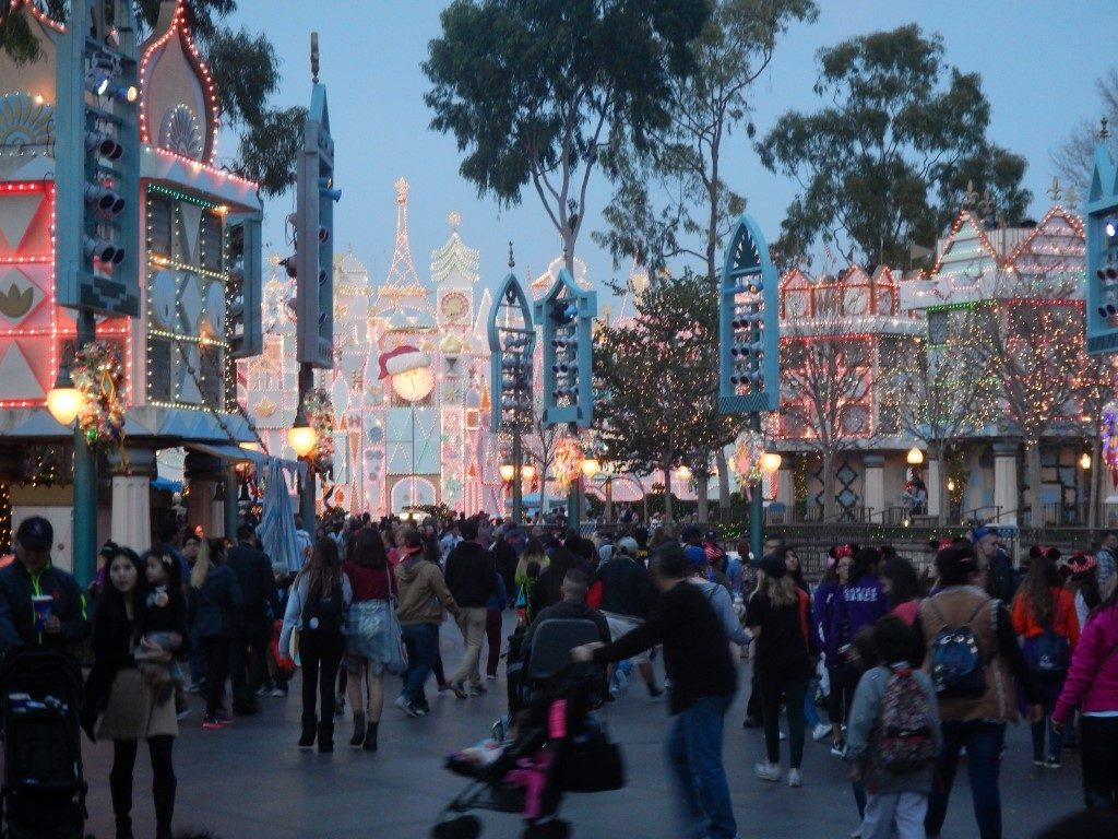 It's a Small World at Dusk
