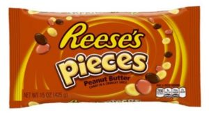 Reese's Pieces Peanut Butter Candies, 15 Ounce
