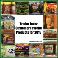 Trader Joe's Customer Favorites for 2015