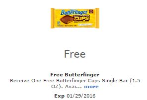 free butterfinger cups