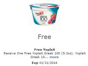 free yoplait