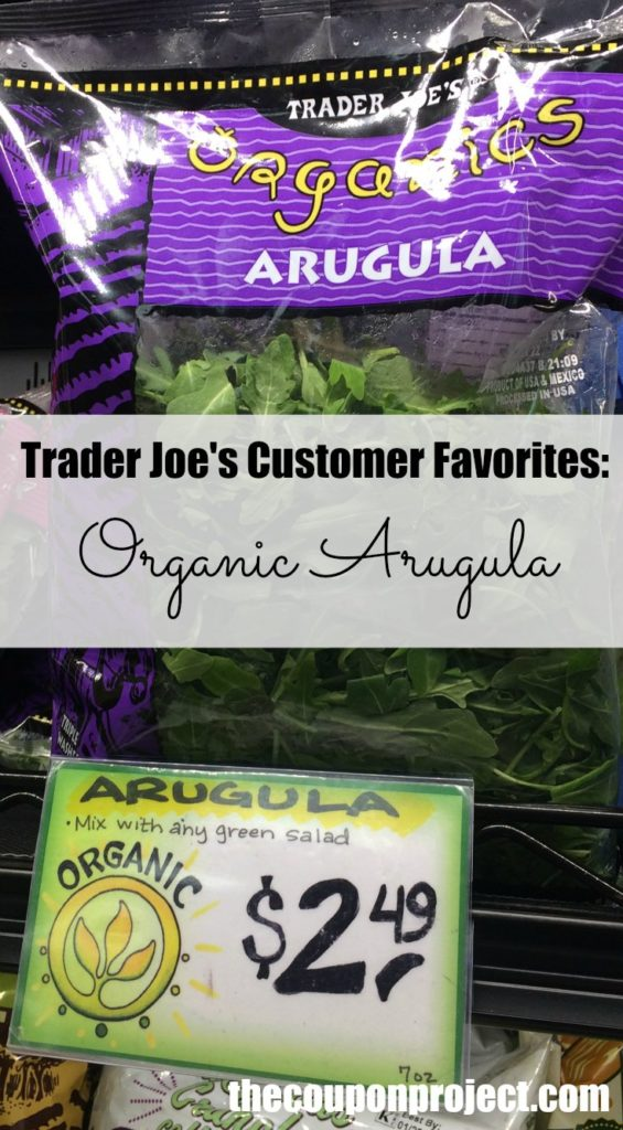 trader joe's organic arugula