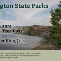 Free Washington State Parks Entrance Days – for 2017
