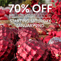 70% off Holiday Decor at Watsons