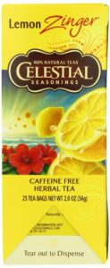 Celestial Seasonings Lemon Zinger Tea, 25 Count