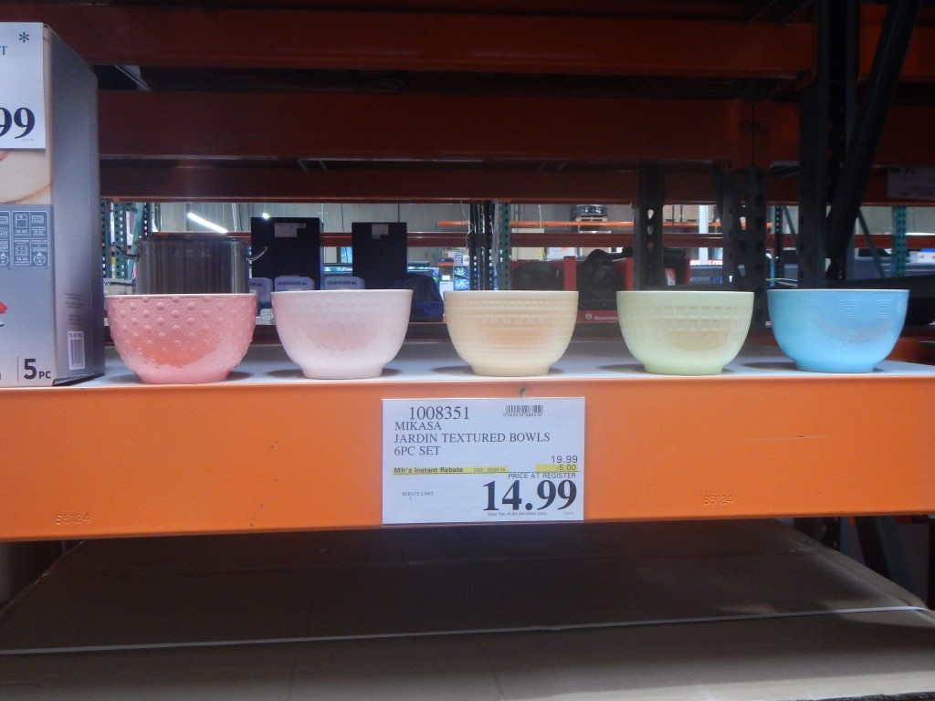 stuff i didn t know i needed until i went to costco feb 16 edition mikasa bowls at costco