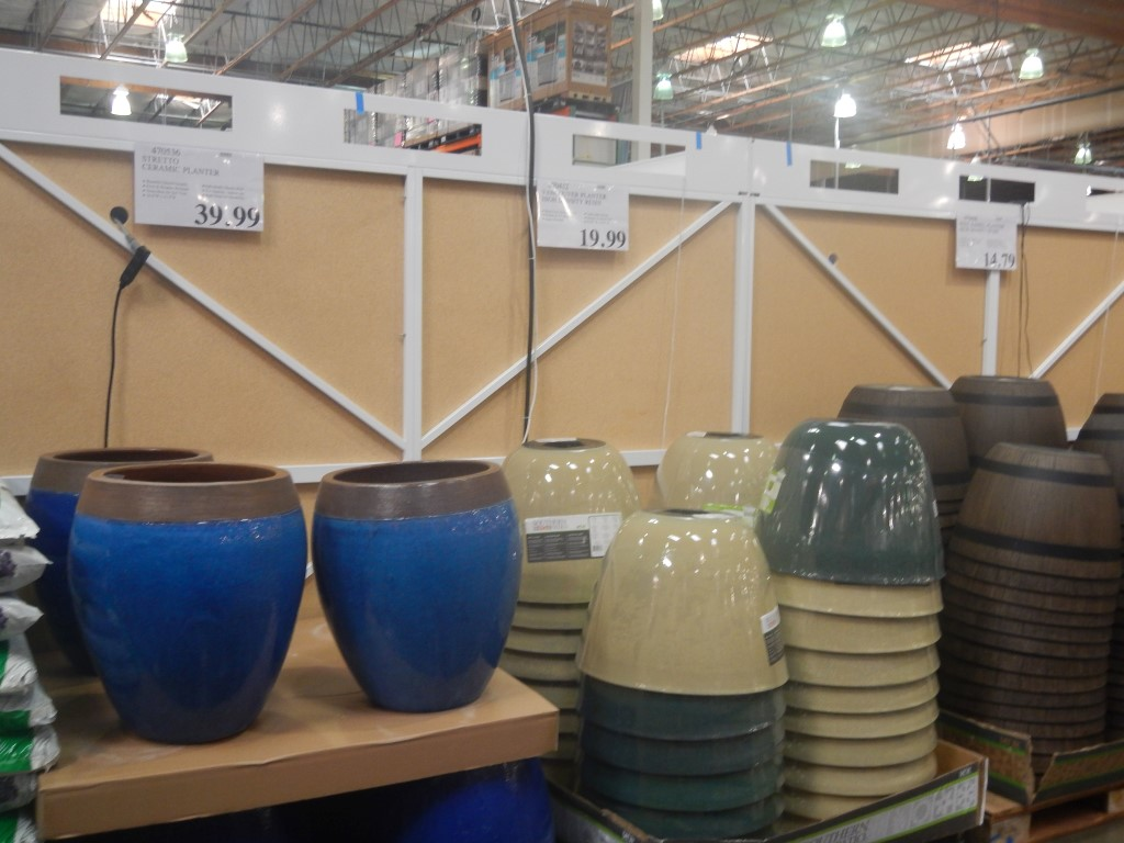 Lovely Planters At Costco