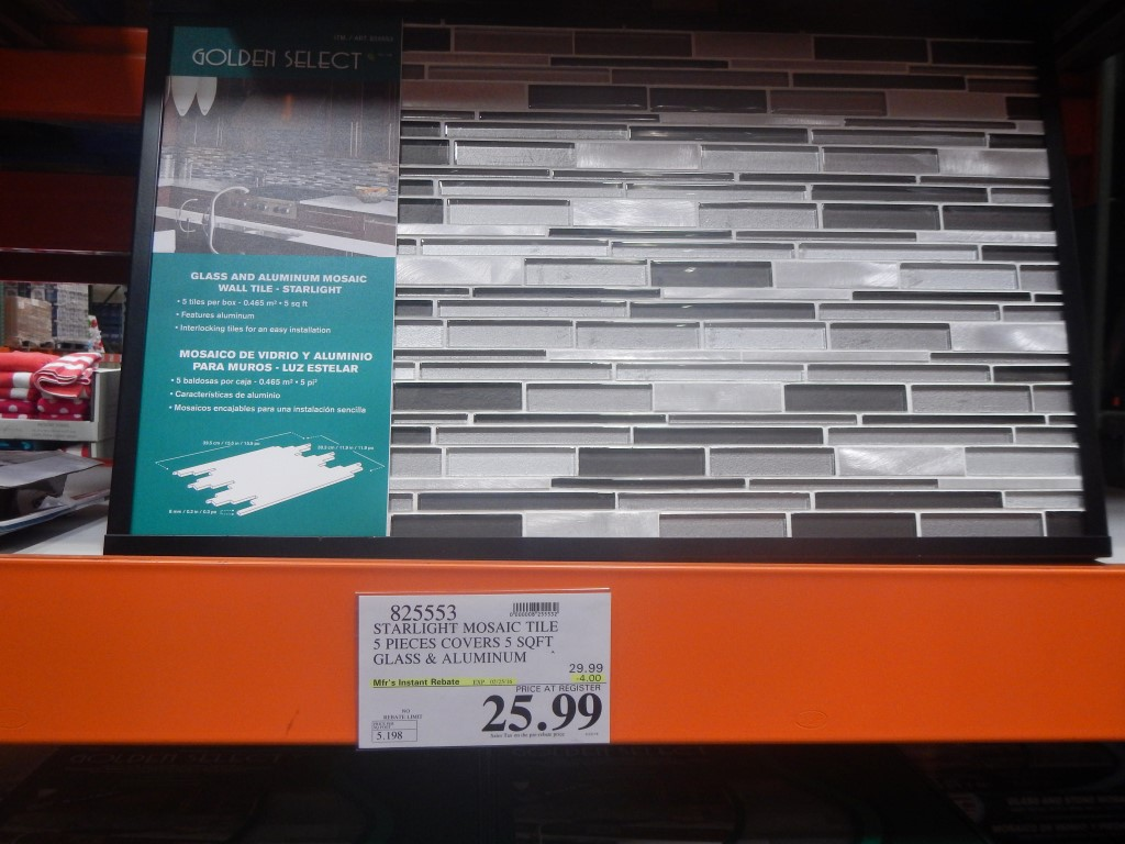 Starlight Mosaic Tile At Costco