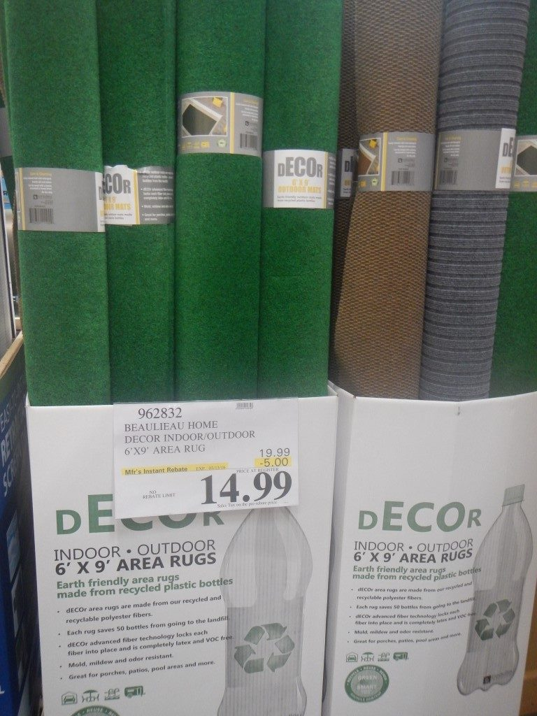 Outdoor Rugs at Costco