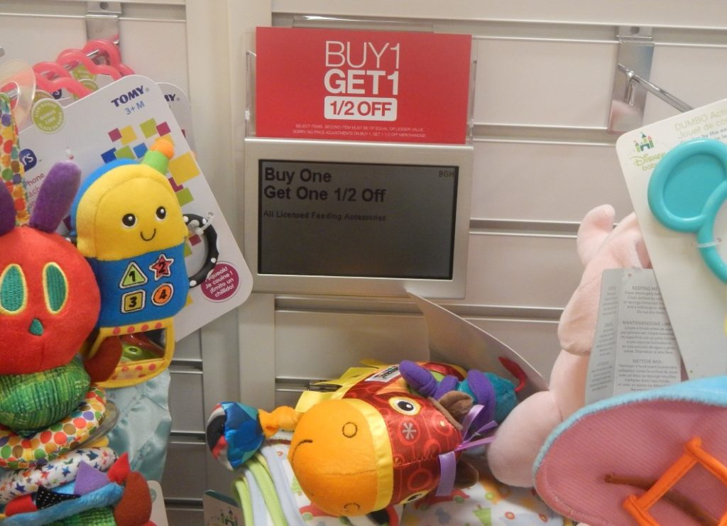 Buy one, get one 1/2 Baby Toys