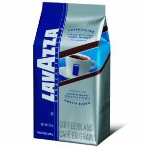 Lavazza Gran Filtro Dark Roast - Whole Coffee Beans, 2.2-Pound Bag