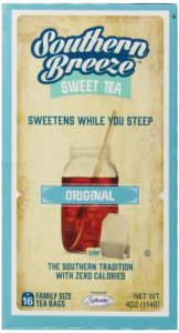 Southern Breeze Sweet Tea, 16 Family Size Tea Bags