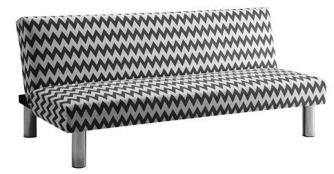 chevron futon