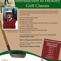 FREE Hickory Golf Classes at Meadow Park Golf Course (Tacoma)