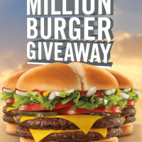 Jack in the Box: Million Burger Giveaway