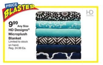 Priceblaster - Microplush Blanket at Fred Meyer